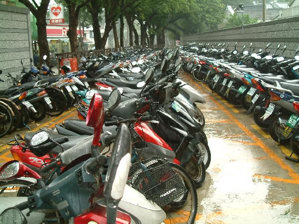 Scooter Parking Taiwan