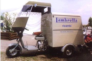 Lambretta Scooter Van