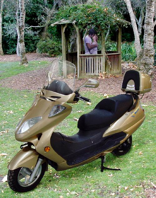 The Luxury Motorscooter