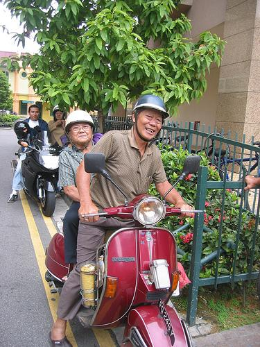 Old Scooterists