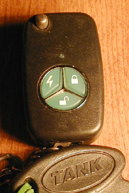 TANK Key fob with alarm and remote starter