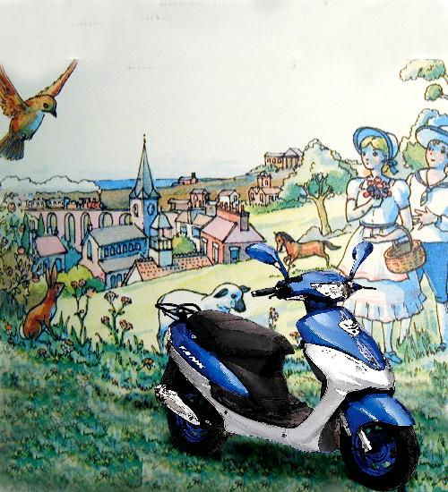 The Picturebook Scooter