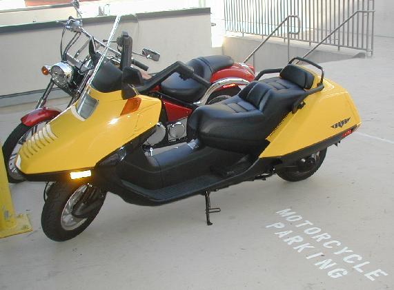 Honda Helix Motorscooter