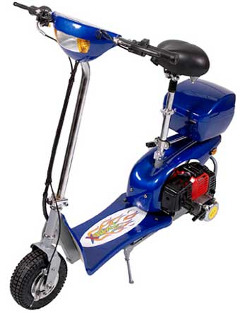 Gas Moped Model: XM-155 (EPA & CARB Certified)