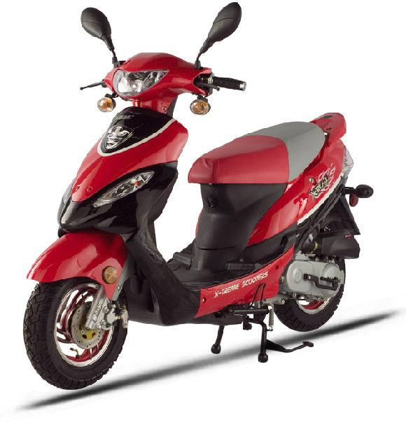 Gas Moped Model: XM-50 (EPA & CARB Certified)