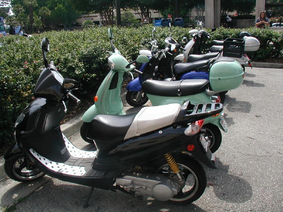 UCLA Motor Scooters